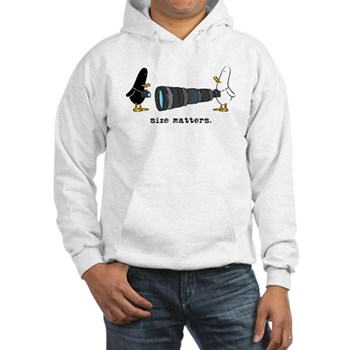 WTD: Size Matters Hooded Sweatshirt