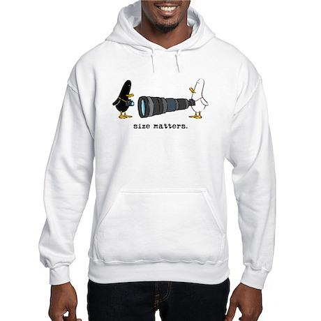 WTD: Size Matters Hooded Sweatshirt