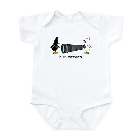 WTD: Size Matters Infant Bodysuit