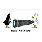 WTD: Size Matters Postcards (Package of 8)