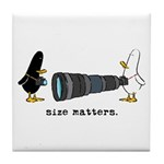 WTD: Size Matters Tile Coaster