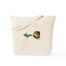 God Creates The U.P. Tote Bag