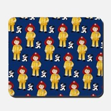 Lil Firefighter and Dalmatian Mousepad
