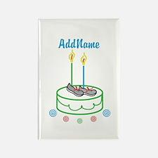 CUSTOMIZE Sports Birthday Magnets