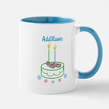 CUSTOMIZE Sports Birthday Mugs - Right
