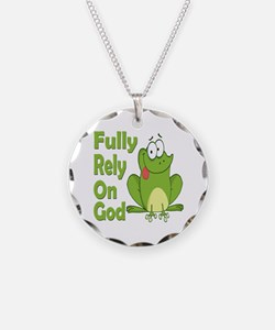 Fully Rely On God Necklace