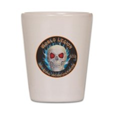 Legion of Evil Accountants Shot Glass