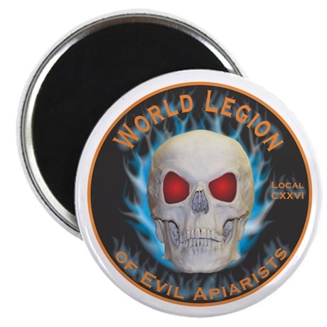 "Legion of Evil Apiarists 2.25"" Magnet (10 pack)"