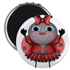 Dancing Ladybug Magnets