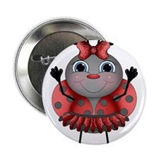 "Dancing Ladybug 2.25"" Button (10 pack)"
