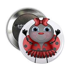 """Dancing Ladybug 2.25"""" Button"""