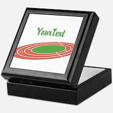 Customize Track Keepsake Box
