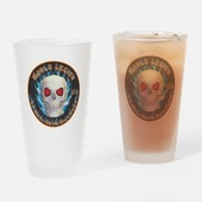 Legion of Evil Body Builders Drinking Glass