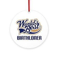 Biathloner (Worlds Best) Ornament (Round)