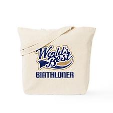 Biathloner (Worlds Best) Tote Bag