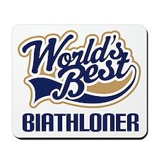 Biathloner (Worlds Best) Mousepad