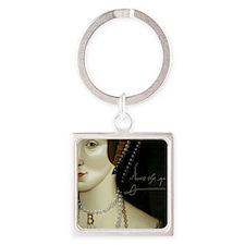 Anne Boleyn Square Keychain
