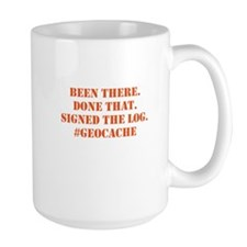 Signed the Log geocache Mugs