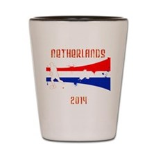 Netherlands World Cup 2014 Shot Glass