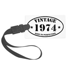 Vintage Aged to Perfection Luggage Tag