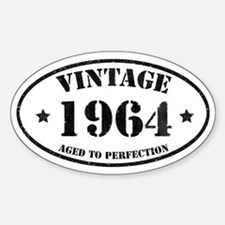 Vintage Aged to Perfection 50 Decal