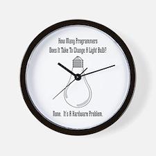 Change Bulb Wall Clock
