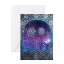 Space Ghost Greeting Card