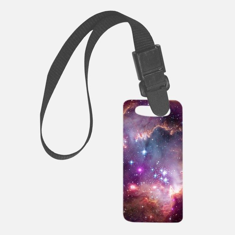 Galaxy Luggage Tag