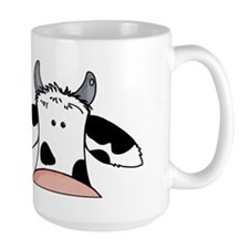 close up cow Mug