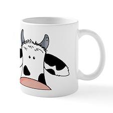 close up cow Mug