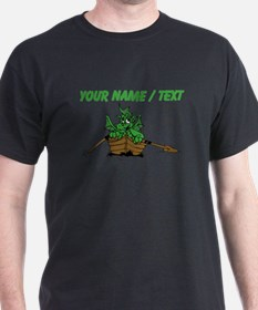 Custom Dragon On Boat T-Shirt
