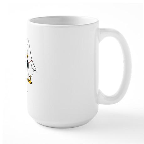 WTD: Kiss My Glass Large Mug