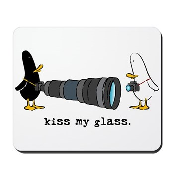 WTD: Kiss My Glass Mousepad