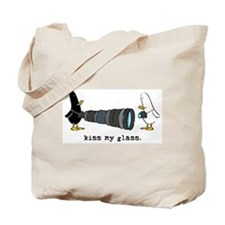 WTD: Kiss My Glass Tote Bag