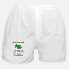 Always Be A Triceratops Boxer Shorts