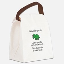 Always Be A Triceratops Canvas Lunch Bag