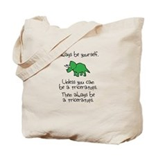 Always Be A Triceratops Tote Bag