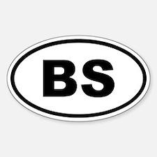 Bahamas BS Decal