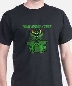 Custom Baby Dragon With Horns T-Shirt