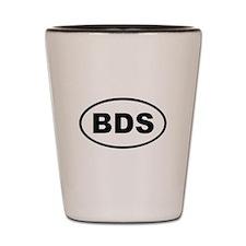 Barbados BDS Shot Glass