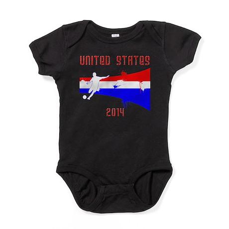 USA World Cup 2014 Baby Bodysuit