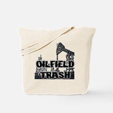 Oilfield Trash Diamond Plate Tote Bag