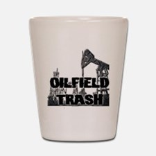 Oilfield Trash Diamond Plate Shot Glass