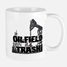 Oilfield Trash Diamond Plate Mugs