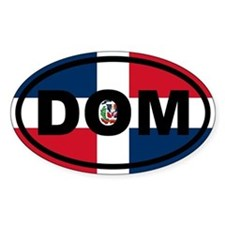 Dominican Republic DOM Decal