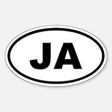 Jamaica JA Decal