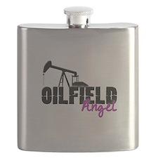 Oilfield Angel Flask