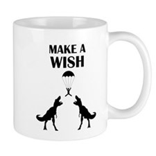 TRex Make a Wish Small Mugs