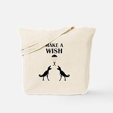 TRex Make a Wish Tote Bag