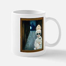 """The Pope as a Lad"" avec poodle dog Mug"